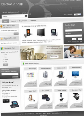 Product picture Wordpress template Shop - DirectoryPress V5.0e